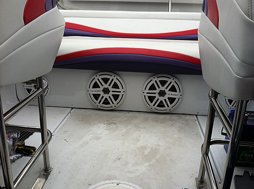 Picture of Custom Marine Audio Sound Systems Installations