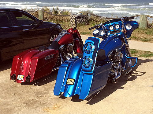 Custom NJ Motorcycle lighting Audio Sound Systems