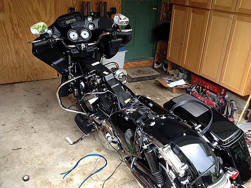 Nj Custom Motorcycle Audio Systems Installation Amplify I